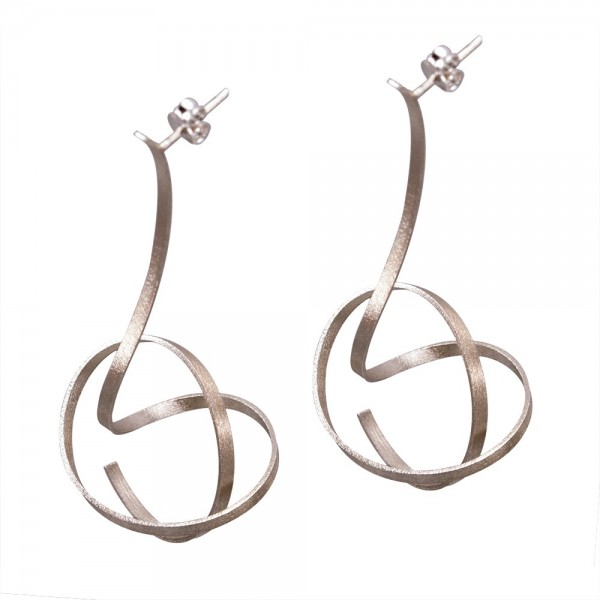 Silver 925 earrings handmade