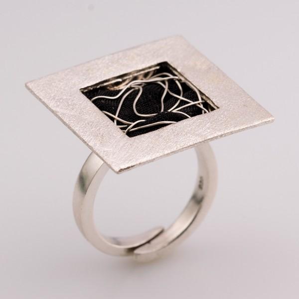Δαχτυλίδι ασήμι 925 χειροποίητο