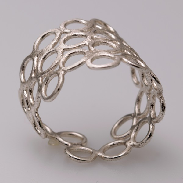 Δαχτυλίδι ασήμι 925° χειροποίητο
