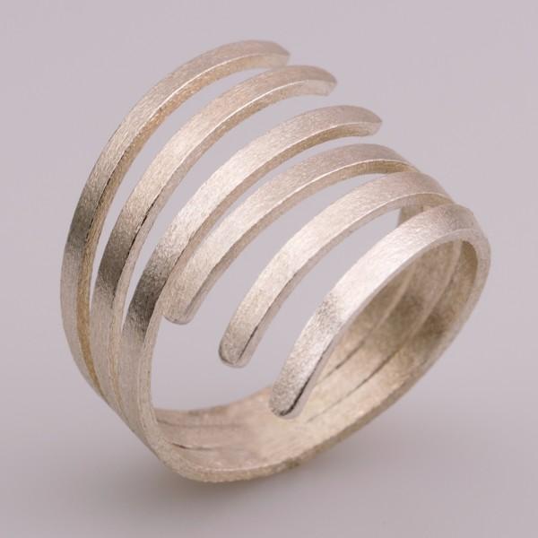 Δαχτυλίδι ασήμι 925° χειροποίητο BAT-D110S