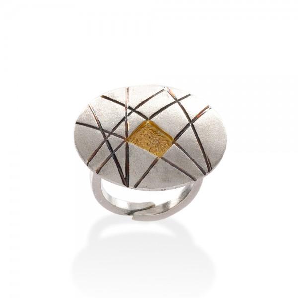 Δαχτυλίδι χειροποίητο από ασήμι 925 BAT-DL822