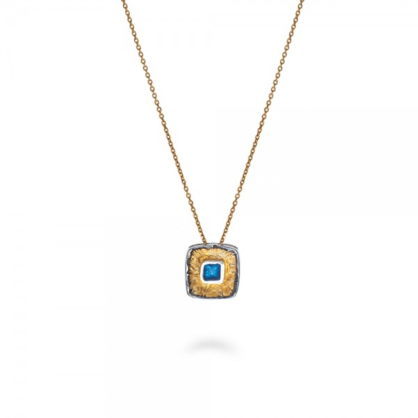 Handmade pendant silver 950 KON-A56/B