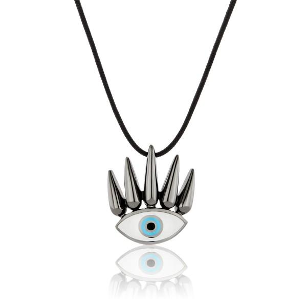 Honor Omano Eye of the Sun Κρεμαστό ασήμι 925° σμάλτο HON-SP090