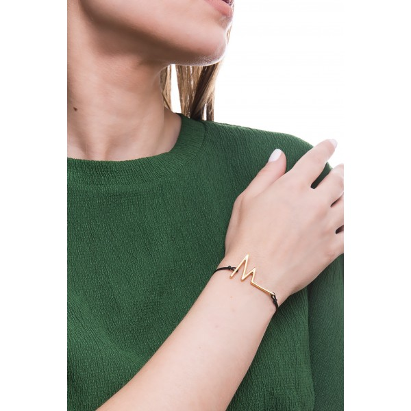 Honor Omano Heartbeat Βραχιόλι ασημί χρώμα HON-BB001