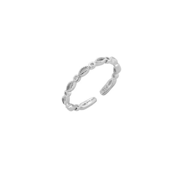 Δαχτυλίδι βεράκι ασήμι 925° PS/9C-RG056-1