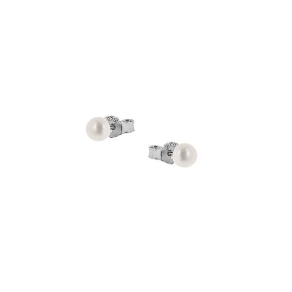 Σκουλαρίκια καρφωτά πέρλα μικρού μεγέθους ασήμι 925°PS/9W-SC002-1