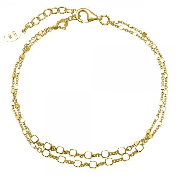 Βραχιόλια ασήμι 925 επιχρυσωμένα GRE-54295