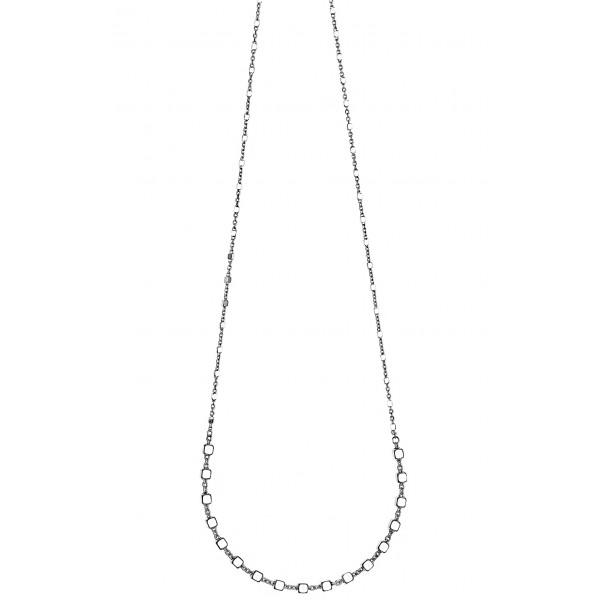 Κολιέ ασήμι 925 επιπλατινωμένο GRE-53552