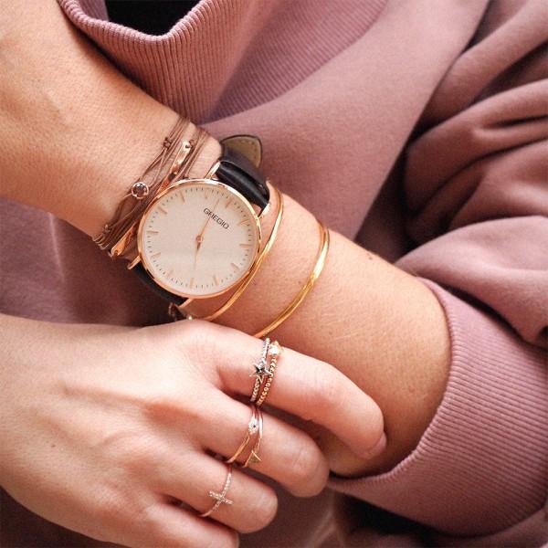 Δαχτυλίδι ασήμι 925 ροζ επιχρυσωμένο GRE-49823