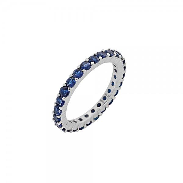 Δαχτυλίδι ασήμι 925 επιπλατινωμένο με ζιργκόν PS/9B-RG062-1M