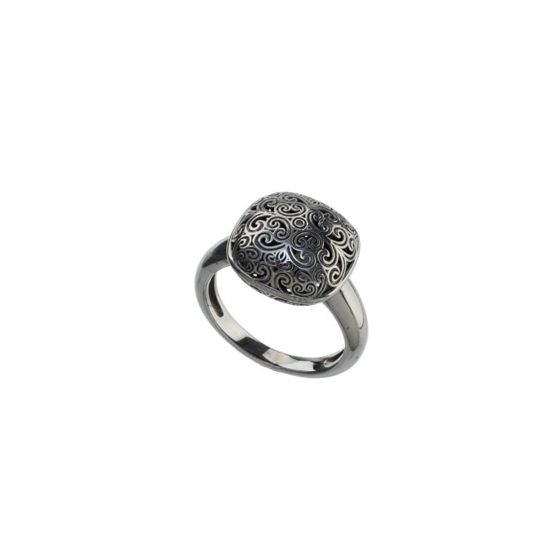 Χειροποίητο δαχτυλίδι Ασήμι 925 GER-R2024B