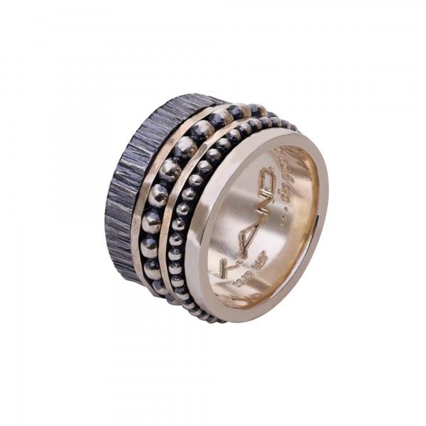 Χειροποίητο Δαχτυλίδι Ασήμι 925 KD-1209