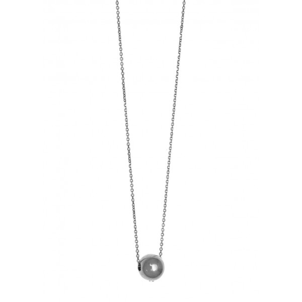 Κολιέ ασήμι 925 επιπλατινωμένο GRE-58446