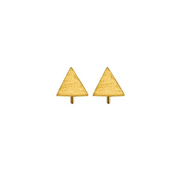 Χειροποίητα Καρφωτά Σκουλαρίκια Χρυσό Κ14 KRI-S/E171