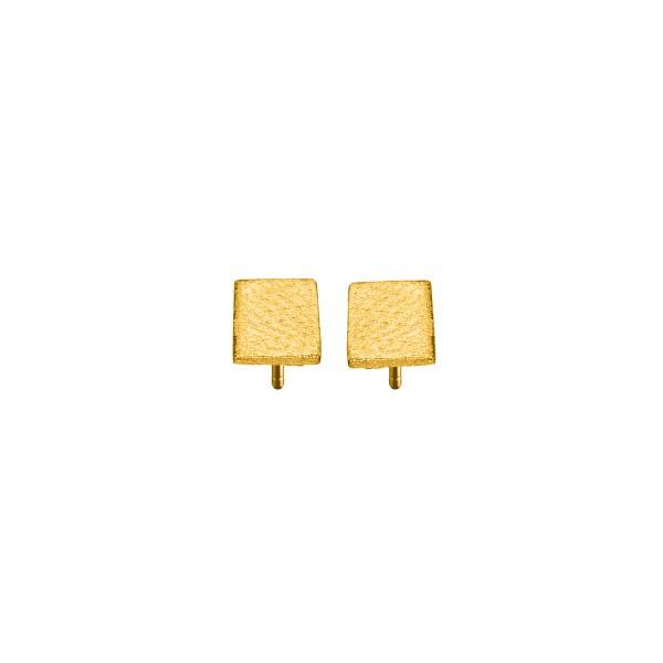 Χειροποίητα Καρφωτά Σκουλαρίκια Χρυσό Κ14 KRI-S/E170