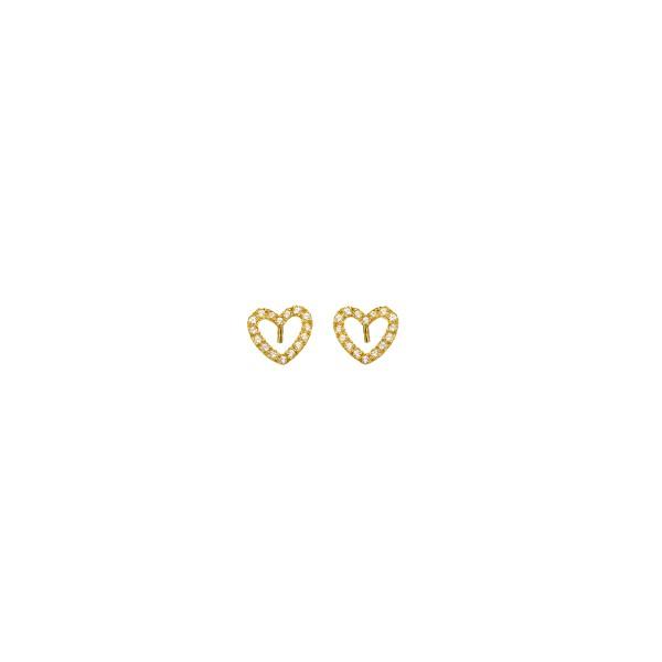 Χειροποίητα Καρφωτά Σκουλαρίκια Χρυσό Κ14 KRI-S/K19