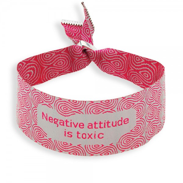 Negative attitude is toxic
