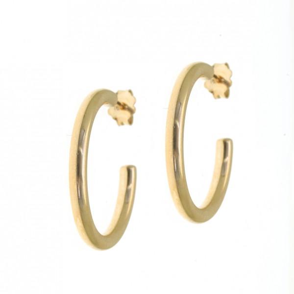Σκουλαρίκια κρίκοι ασήμι 925
