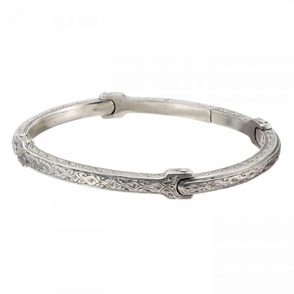 Classic Men's Bracelet in Sterling Silver GER-6427