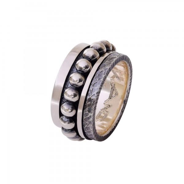 Χειροποίητο Δαχτυλίδι Ασήμι 925 KD-1216