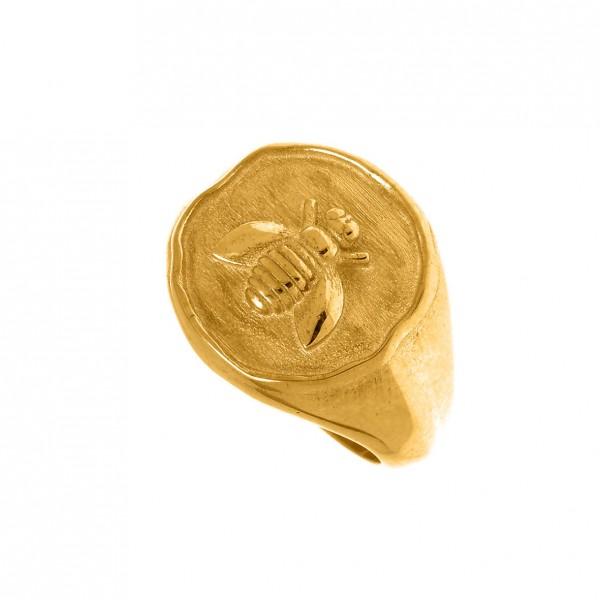 Δαχτυλίδι ασήμι 925 επιχρυσωμένο GRE-56441