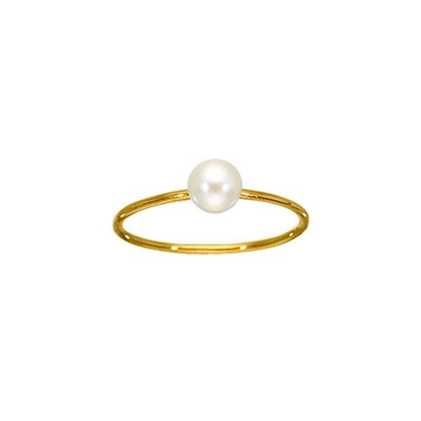 Χειροποίητο Δαχτυλίδι Χρυσό Κ14 Μαργαριτάρι KRI-D/E126