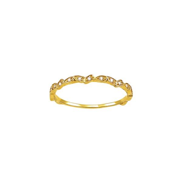 Χειροποίητο Δαχτυλίδι Χρυσό Κ14 με Ζιργκόν KRI-D/E286