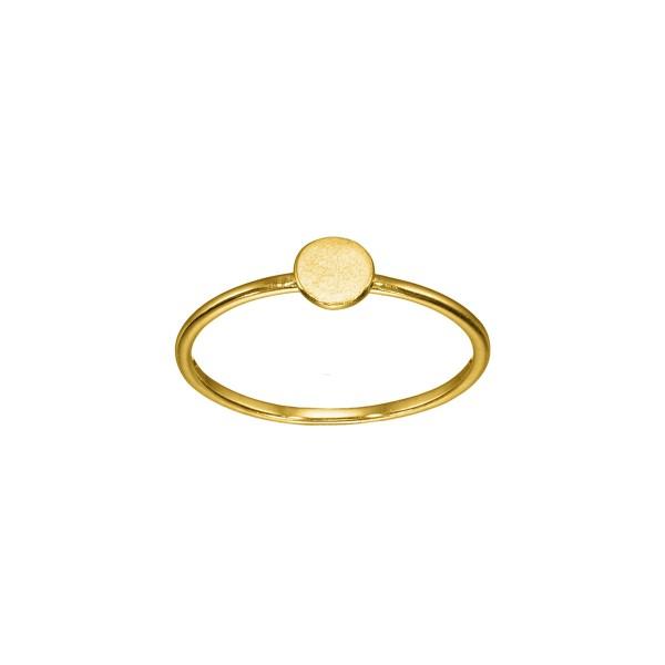 Χειροποίητο Δαχτυλίδι Χρυσό Κ14 KRI-D/E173
