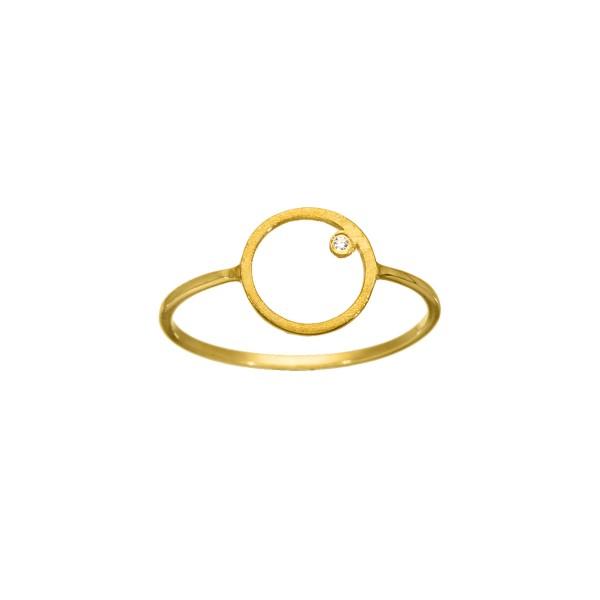 Χειροποίητο Δαχτυλίδι Χρυσό Κ14 KRI-D/E124
