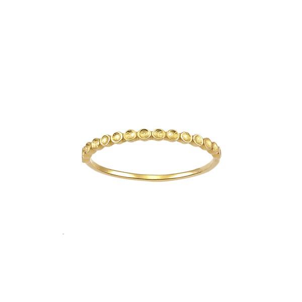 Handmade Ring 14K Yellow Gold KRI-D/E285