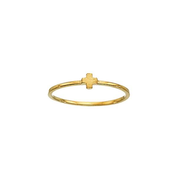 Χειροποίητο Δαχτυλίδι Χρυσό Κ14 KRI-D/S42
