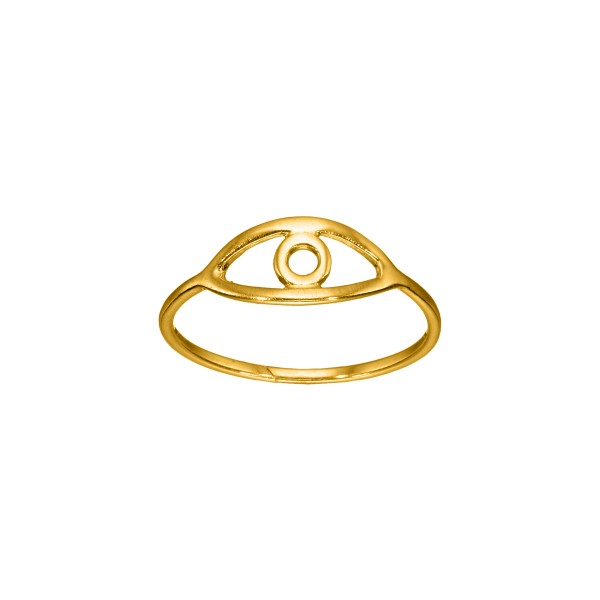 Χειροποίητο Δαχτυλίδι Χρυσό Κ14 KRI-D/E155