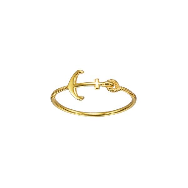 Χειροποίητο Δαχτυλίδι Χρυσό Κ14 KRI-D/Z75