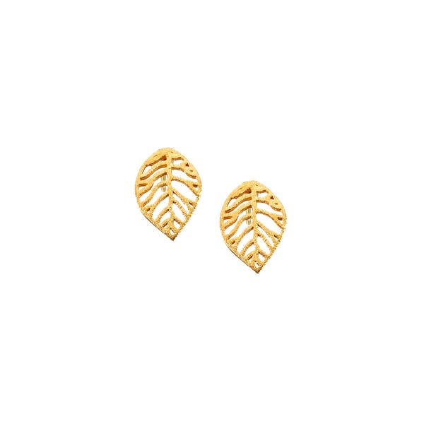 Χειροποίητα Σκουλαρίκια Χρυσό Κ14 KRI-S/M33