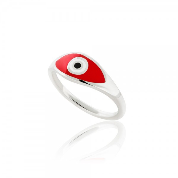 HONOR Eye Ring silver 925 enamel