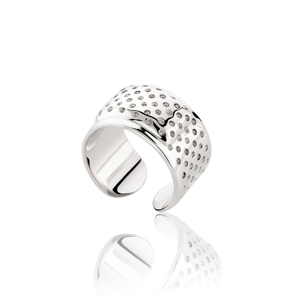 Honor Band Aid Ring Silver 925
