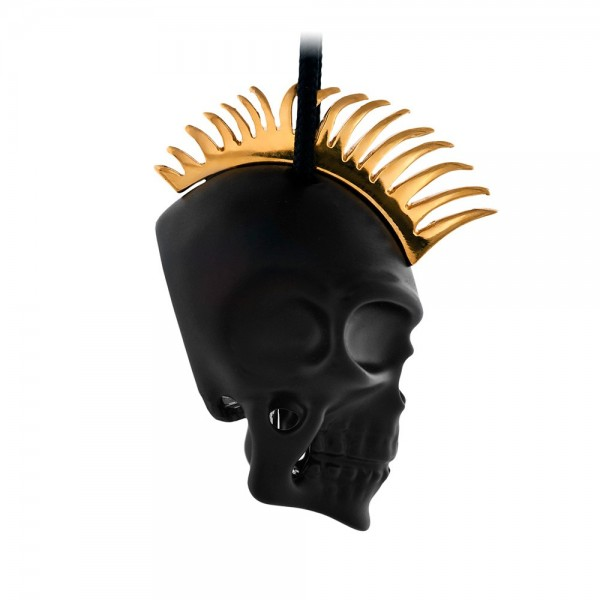HONOR Punk Skull μαύρο χρώμα